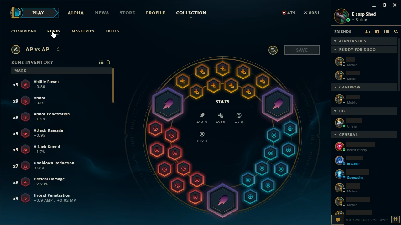 League Of Legends New Rune Page Builds